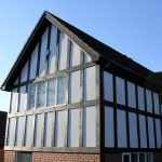 mock tudor wood