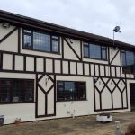 example of mock tudor boards