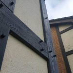 mock tudor board