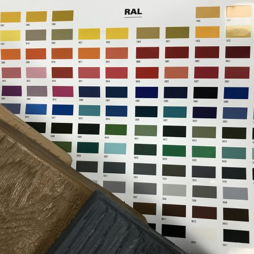 choose tudor boards in any RAL colour