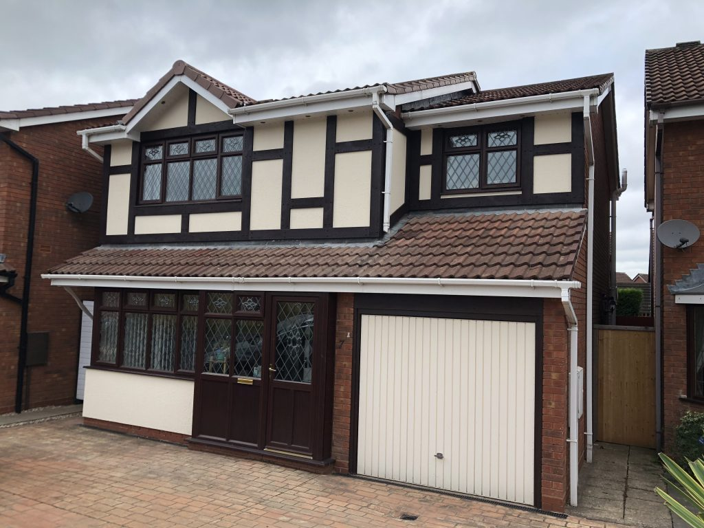 Mock Tudor Homes